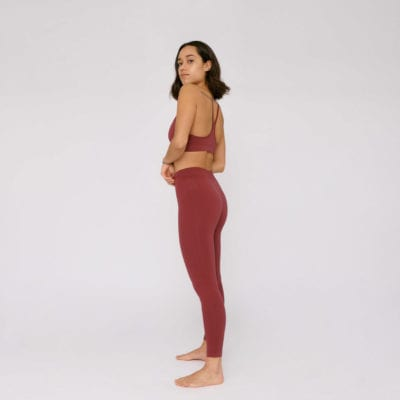 SilverTech Active Leggings Organic Basics genanvendt materiale træningstøj