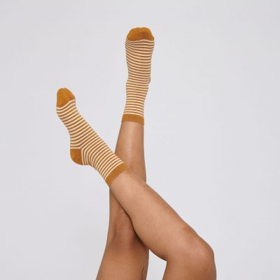 organic cotton striped socks organic basics økologisk bomuld GOTS-certificeret